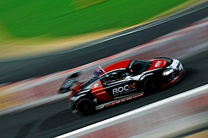 Audi R8 LMS cars ready for the 2013 Race of Champions