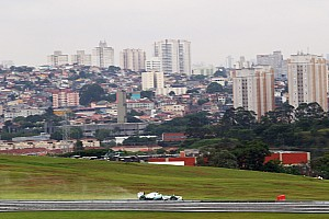 Formula 1 Practice report Rosberg P1 and Hamilton P5 finished today's practice sessions at a wet Interlagos circuit