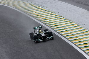 Formula 1 Practice report Pirelli: Wet start to Brazilian GP weekend