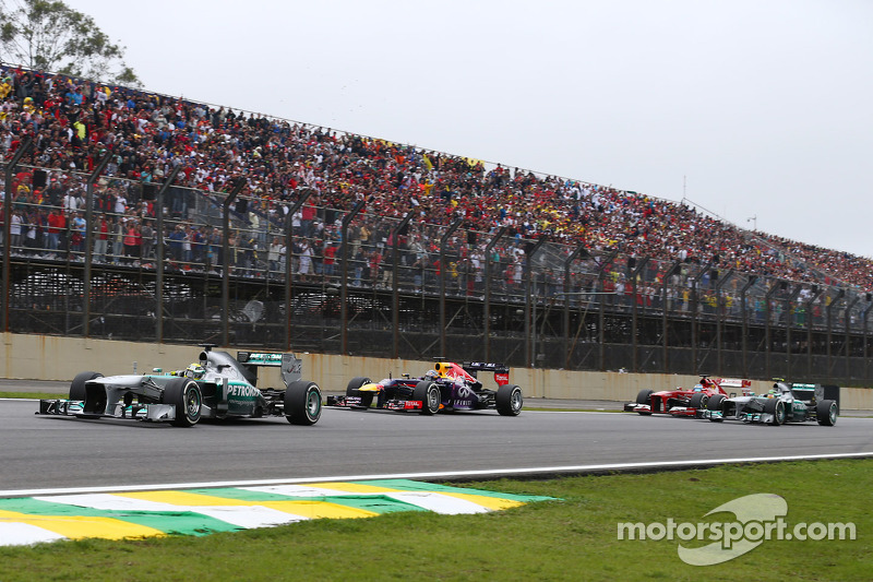 Mercedes secured in São Paulo the second place in the Constructors' Championship