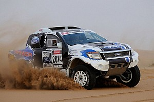 Dakar Preview Team Ford Racing focuses on fitness and preparation for Dakar Rally 2014