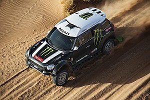 Dakar Breaking news X-raid Team will line up at the 2014 Rally Dakar with the MINI ALL4 Racing