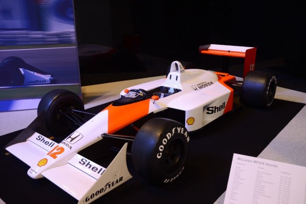 McLaren: Step inside the MP4/4 - video