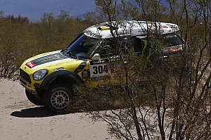 "Dakar Stage report Joan ""Nani"" Roma claims second day victory in the MINI ALL4 Racing"