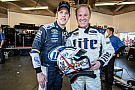 Rusty Wallace beaming after Daytona run