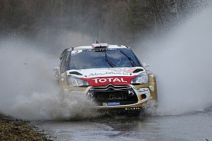 WRC Race report Kris Meeke gets his first WRC podium