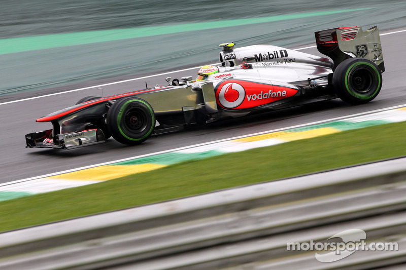 Grey livery and no Vodafone successor at McLaren
