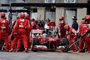 Formula 1 Breaking news Ferrari had fastest pitstops in 2013 - report