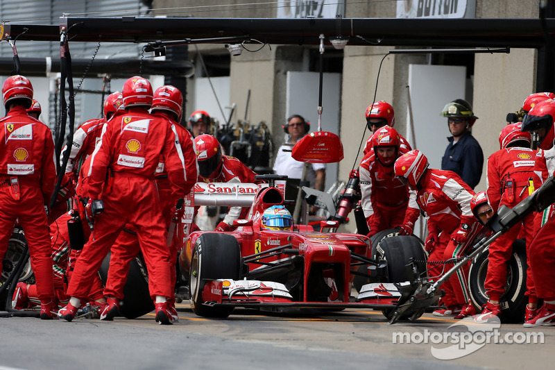 Ferrari had fastest pitstops in 2013 - report