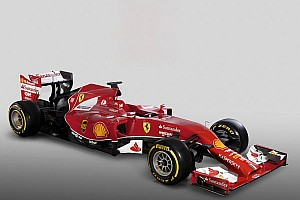 Formula 1 Breaking news Ferrari unveils its 2014 challenger - the F14 T