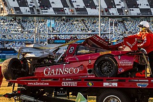 IMSA Breaking news Teammates comment on condition of Memo Gidley and Matteo Malucelli following massive crash