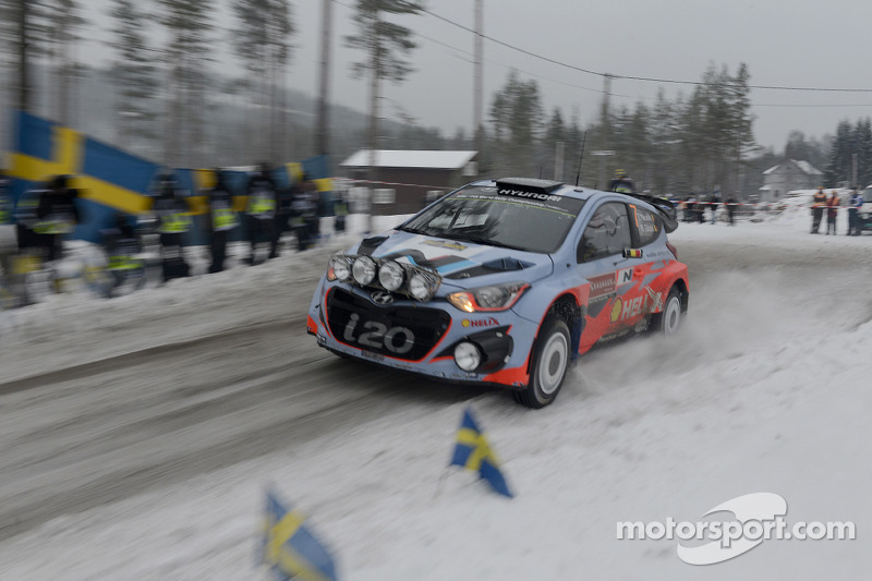 Hyundai aims to make most of Rally 2 on final day in Sweden