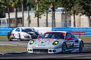 Porsche leads opening GTLM testing at Sebring