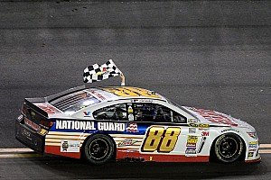NASCAR Sprint Cup Race report Dale Earnhardt Jr. takes second Daytona 500 win