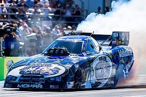 NHRA Race report Beckman earn season's first round win of the season, continues to grow together as a unit at DSR