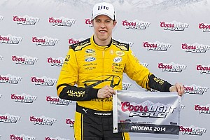NASCAR Sprint Cup Qualifying report Brad Keselowski takes first Cup pole under new qualifying procedure