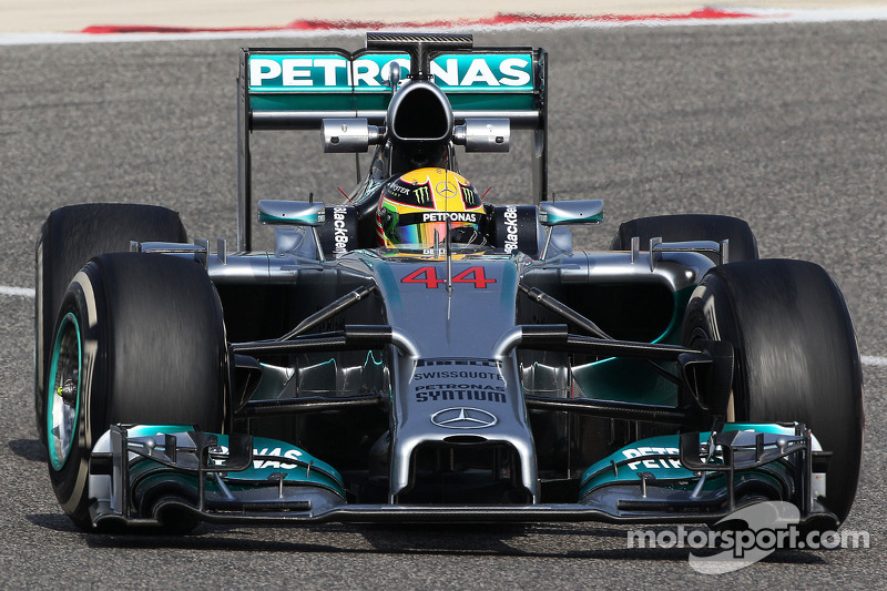 Mercedes finish final pre-season test in P1