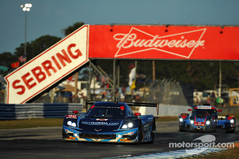 Small setback costs Visit Florida Racing big finish in Sebring