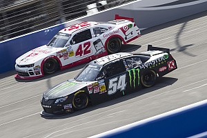 Kyle Busch was the highest finishing Toyota driver in the race at Auto Club