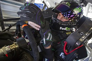 NASCAR Sprint Cup Commentary Denny Hamlin: 'I don't know why people question who I am'