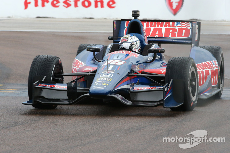 Graham Rahal had his two fastest laps omitted in qualifying at St. Pete
