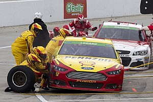 NASCAR Sprint Cup Breaking news Logano voices concern over Goodyears at Texas