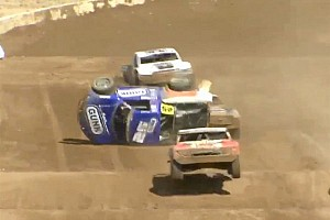 Arie Luyendyk Jr. injured in TORC crash