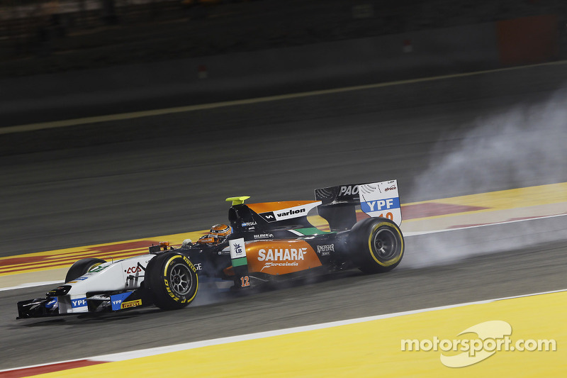 Hilmer Motorsport at the opening event of GP2 Series in Bahrain