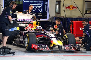 Formula 1 Testing report Red Bull encounters electrical issues in second day of testing