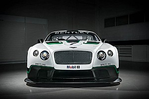 Dyson partners with Bentley Motorsports - to compete in Pirelli World Challenge