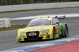 DTM Testing report Rocky' in #1 Audi for the first time