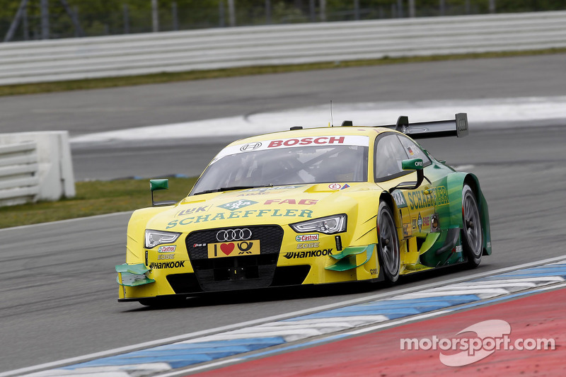 Rocky' in #1 Audi for the first time