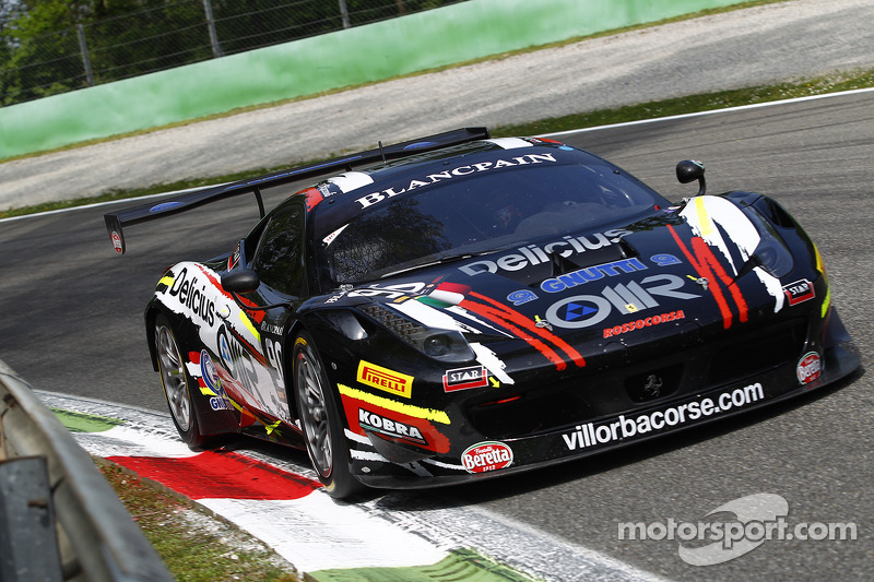 Filip Salaquarda proud to wear Ferrari colors in Nogaro