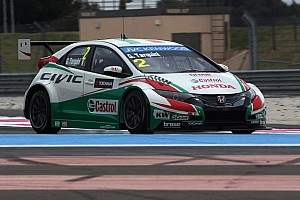 WTCC Race report Honda takes first podium as Tarquini races to third in Race 1