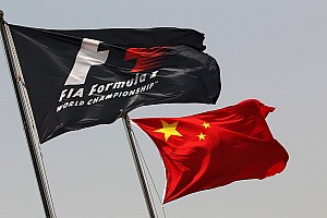 One word caused China GP 'flag-gate'