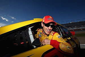 NASCAR Sprint Cup Interview Joey Logano's post-race interview after Richmond win