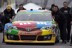 NASCAR Sprint Cup Race report Toyota drivers talk Richmond NASCAR race