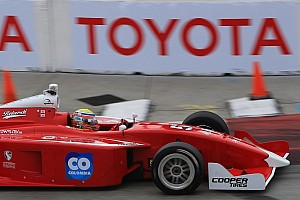 Indy Lights Race report Chaves, Baron score Belardi 1-2