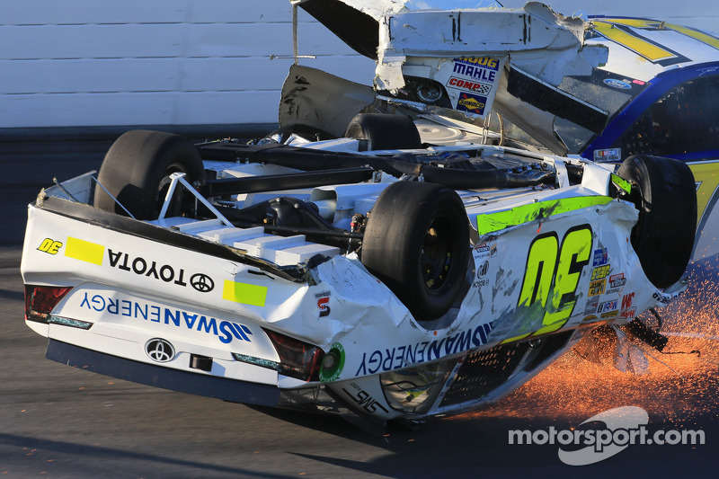 Safety in Formula One and NASCAR - There's always room for improvement