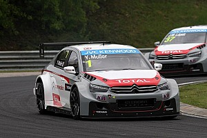 Citroën Racing team heads for the Slovakia Ring