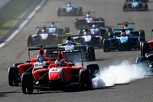 GP3's inaugural race at the Circuit de Catalunya