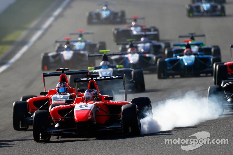 GP3's inaugural race at the Circuit de Catalunya