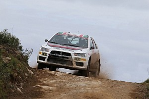 WRC Stage report Rendina ready for day two comeback