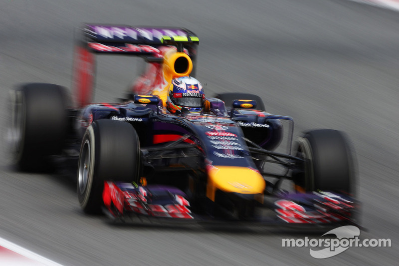 Red Bull's Ricciardo securing third on the grid for tomorrow's Spanish GP