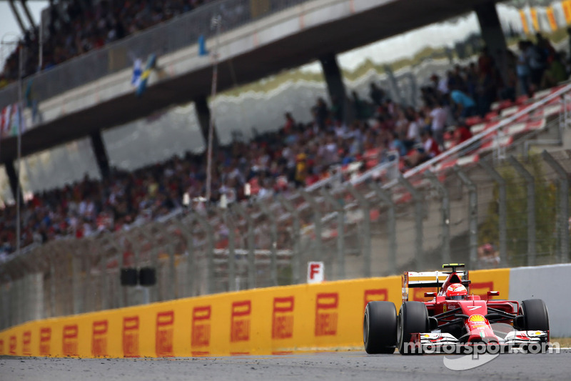 Spanish GP: Third and fourth rows for Scuderia Ferrari