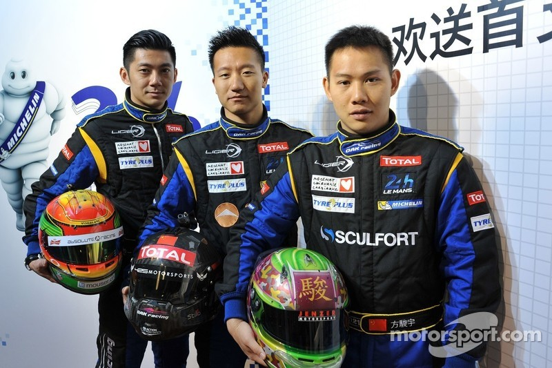 All-Chinese team to attack Le Mans