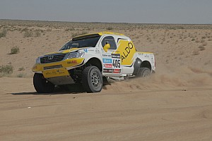 Cross-Country Rally Race report A superb fourth place overall finish for ALDO Racing team at the Mexican 1000 Rally