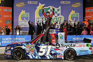 NASCAR Truck Race report Kyle Busch untouchable at Charlotte