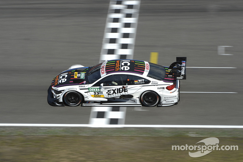 BMW driver Marco Wittmann starts from front row at Oschersleben