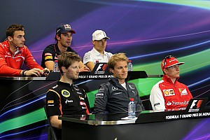 Formula 1 Press conference 2014 Monaco Grand Prix Wednesday press conference